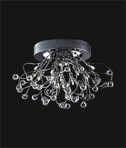 Spider crystal chandelier KL-41050-2414-C Ball