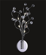 Spider crystal wall sconce KL-41050-1016-C Ball