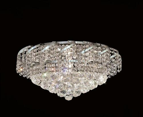 Cinderella Crystal Flush mount Light KL-41041-2012-C
