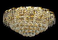 Cinderella Crystal Flush mount Light KL-41041-2012-G