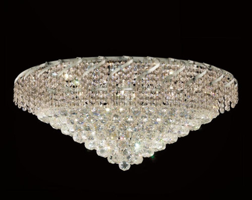 Cinderella Crystal Flush mount Light KL-41041-3016-C
