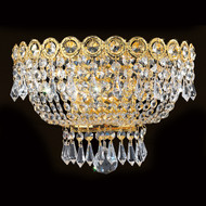 Empire 3 Light Crystal wall Sconces KL-41037-126-G