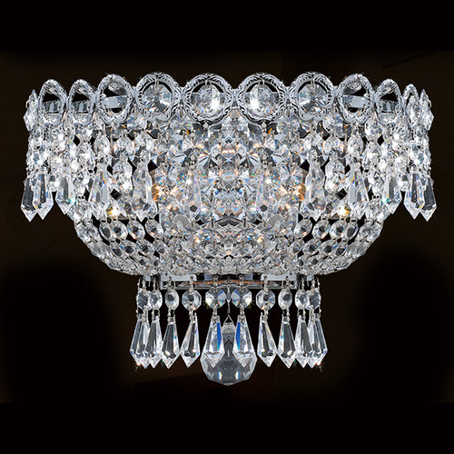 Empire 3 Light Crystal wall Sconces KL-41037-126-C
