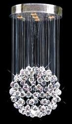 5 Light pendant crystal chandeliers KL-6112