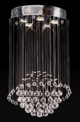 5 Light planet modern pendant crystal chandeliers KL-6110
