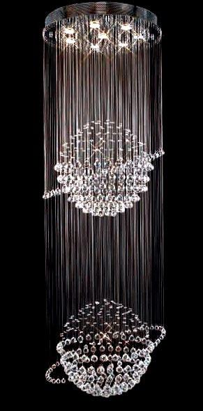 8 Light planet modern pendant crystal chandeliers KL-6111