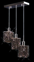 Colored Pendant Crystal Chandelier