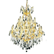 19 Light Maria Theresa crystal chandeliers KL-41039-3242-G