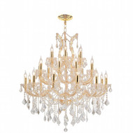 28 Light Maria Theresa crystal chandeliers KL-41039-3842-G