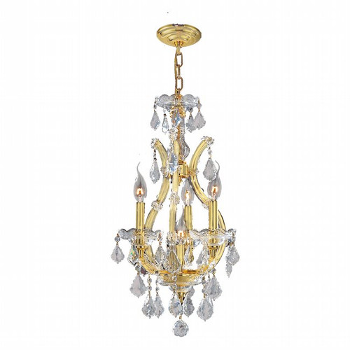 4 Light Maria Theresa crystal chandeliers KL-41039-1222-G