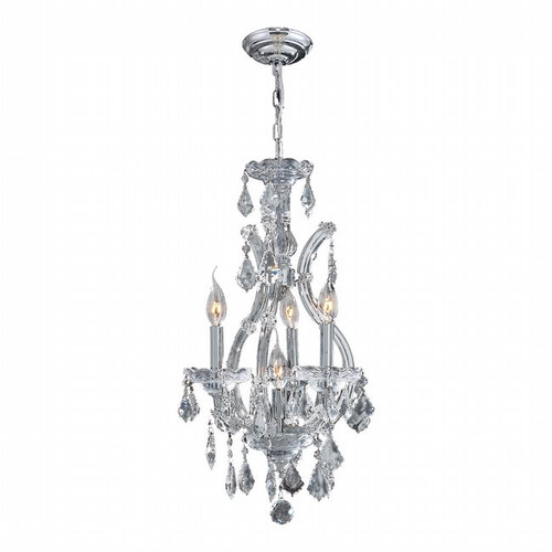 4 Light Maria Theresa crystal chandeliers KL-41039-1222-C