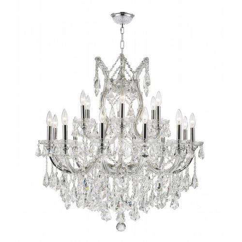 19 Light Maria Theresa crystal chandeliers KL-41039-3028-C