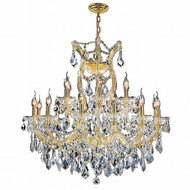 19 Light Maria Theresa crystal chandeliers KL-41039-3028-C