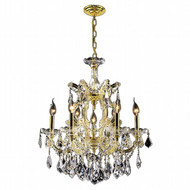 7 Light Maria Theresa crystal chandeliers KL-41039-2225-G