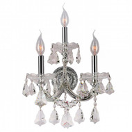 3 Light Maria Theresa crystal Wall Sconces KL-41039-1222-C