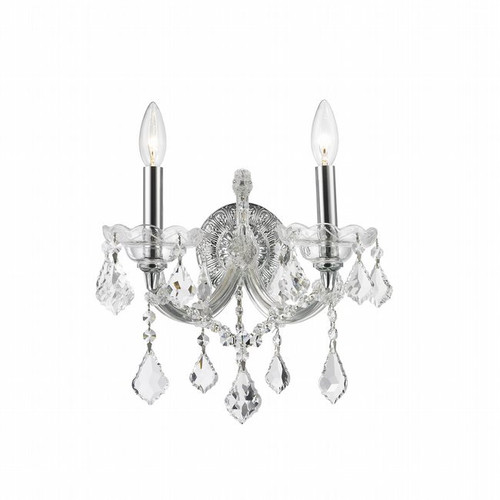 2 Light Maria Theresa crystal Wall Sconces KL-41039-1216-C