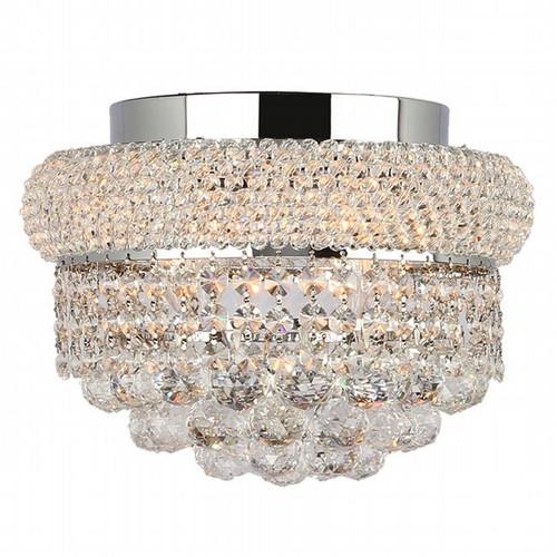 Bagel Crystal Flush Mount Light KL-41035-126-C