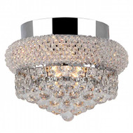 Bagel Crystal Flush Mount Light KL-41035-86-C