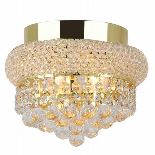 Bagel Crystal Flush Mount Light KL-41035-86-g