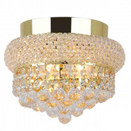 Bagel Crystal Flush Mount Light KL-41035-86-g