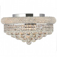Bagel Crystal Flush Mount Light KL-41035-168-C