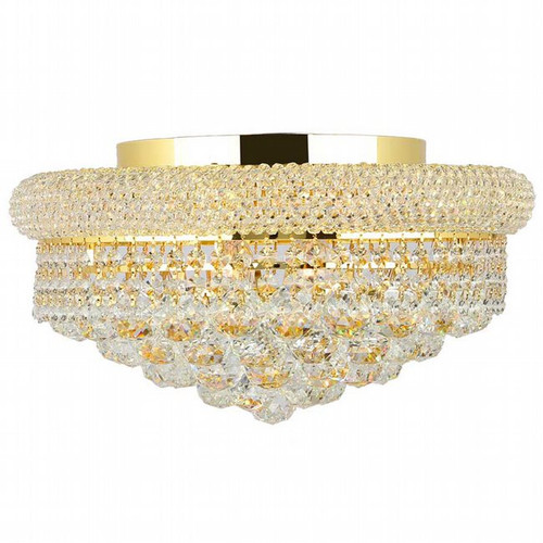 Bagel Crystal Flush Mount Light KL-41035-168-g