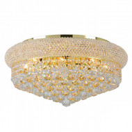 Bagel Crystal Flush Mount Light KL-41035-2010-g