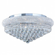 Bagel Crystal Flush Mount Light KL-41035-2412-C
