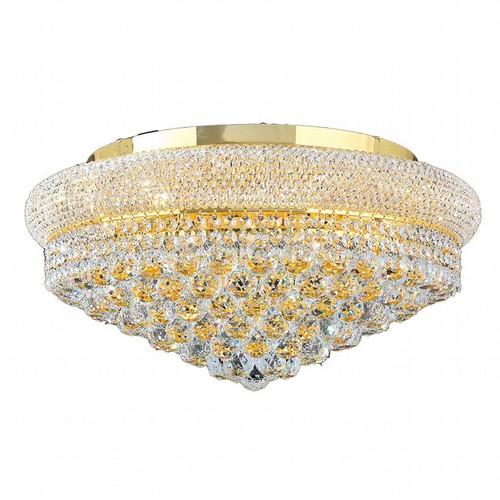 Bagel Crystal Flush Mount Light KL-41035-2412-G