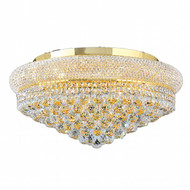 Bagel Crystal Flush Mount Light KL-41035-2412-G