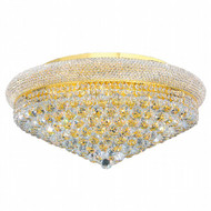 Bagel Crystal Flush Mount Light KL-41035-2813-G