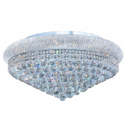 Bagel Crystal Flush Mount Light KL-41035-2813-C