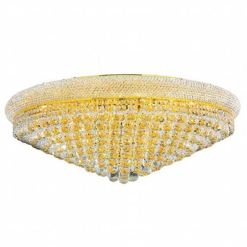 Bagel Crystal Flush Mount Light KL-41035-3614-G