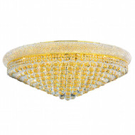Bagel Crystal Flush Mount Light KL-41035-3614-G
