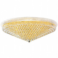 Bagel Crystal Flush Mount Light KL-41035-4816-G