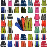 Colored Safety Vests