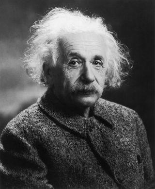 Einstein Was Here Design