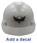 Add a decal to your new ERB Hat