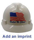 Add an imprint to your new Pyramex Hat