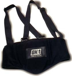 Back Support Belt With Suspenders Size X-Large # OK-1000S-XL pic 1