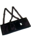 Economy Back Support With Straps Size X-Large # EB100-XL pic 2