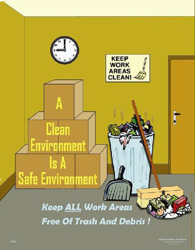 Clean Environment Safety Posters in ENGLISH  pic 1