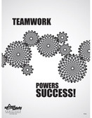 Teamwork Powers Success Safety Posters in ENGLISH  pic 1