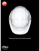Protect Your Head Safety Posters in ENGLISH  pic 1