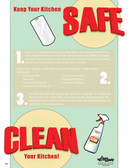 Clean Your Kitchen Posters in ENGLISH  pic 1
