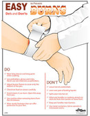 Prevent Burns Posters in ENGLISH  pic 1