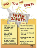 Fryer Safety Posters in ENGLISH  pic 1