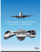 TSA Safety Posters in ENGLISH  pic 1