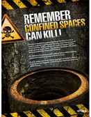 Confined Spaces Can Kill Posters in ENGLISH  pic 1