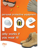 PPE Safety Posters in ENGLISH  pic 1